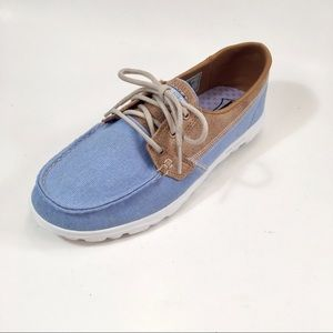 Sketchers Go Walk Lite  Boat Shoe